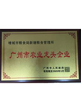 广州市农业龙头企业2