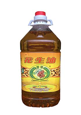 挂荔花生油4.5L