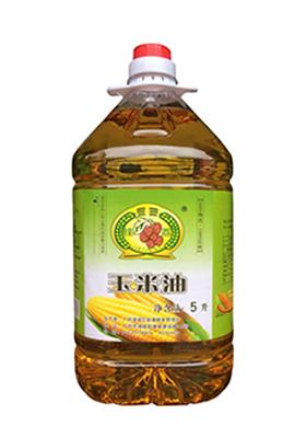 挂荔玉米油5L