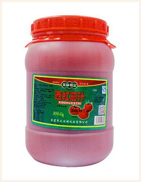 美味明记西红茄汁4kg