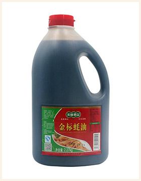 美味明记金标蚝油2.27kg