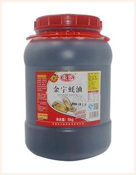 东百金字蚝油6kg