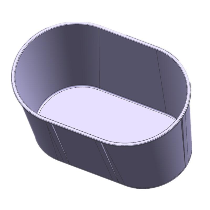 塑料冰桶模具