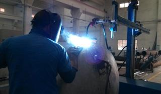 壳体气体保护焊工艺