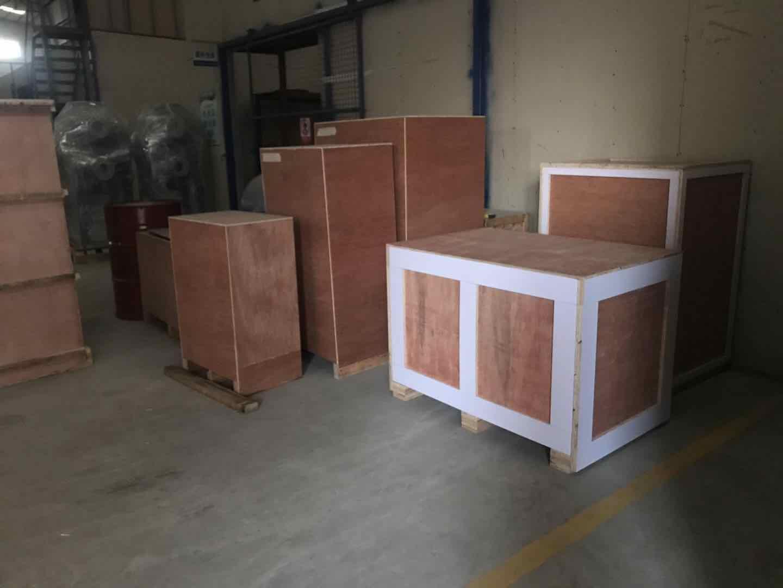 东莞埃欧热能有限公司出口俄罗斯板壳式换热器产品整装待发