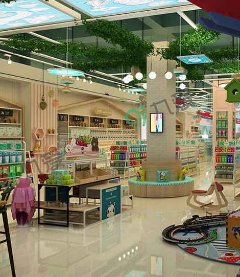 惠州母婴店设计