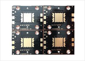 LED銅基沉金板