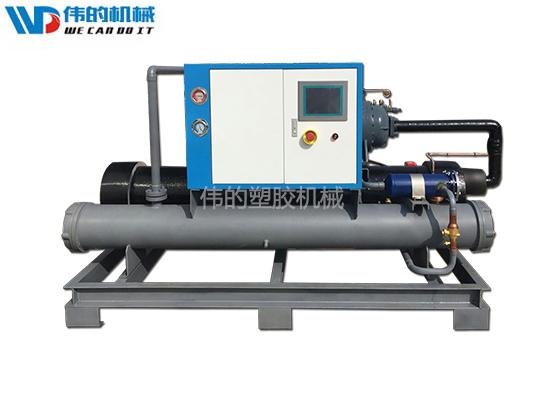 螺杆式冷水机组制冷系统中制冷剂的充灌