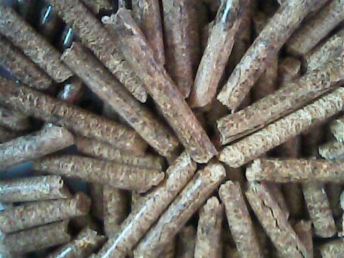 油茶壳生物质颗粒