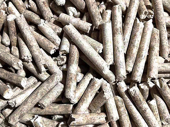玉米芯环保颗粒燃料