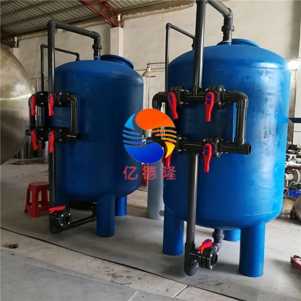 φ1200*2500mm碳钢石英砂活性炭罐
