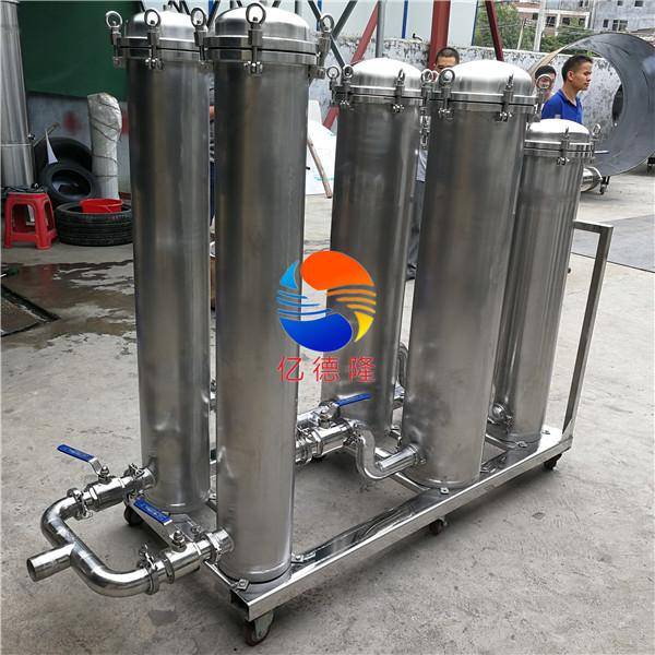 三级组合式大流量移动过滤器