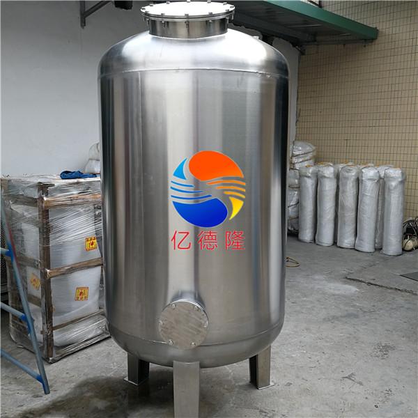 φ1000mm 不锈钢机械过滤罐