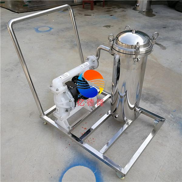 一级处理可移动小推车过滤器