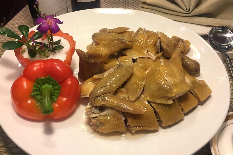 东江盐焗胡须鸡