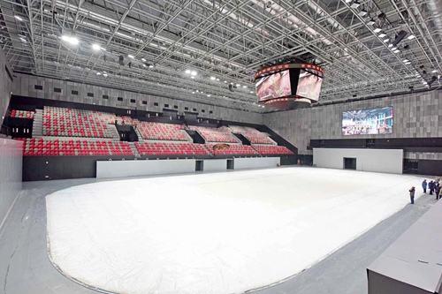 2022北京冬奥会首钢冰球馆