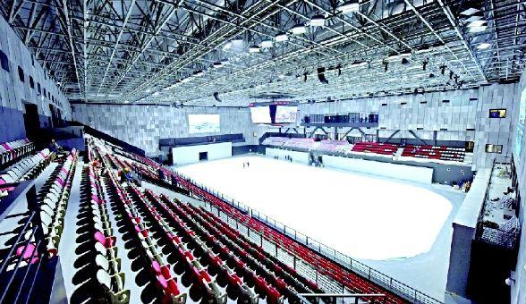 2022北京冬奥会首钢冰球馆固装