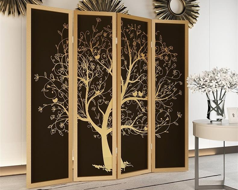酒店manbetx体育 中的屏风可以起到装饰房间的作用防火阻燃耐用坚固-鑫广意