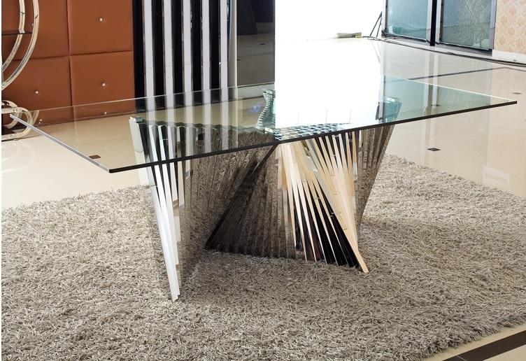 玻璃餐桌dgxgy168销量比较高属于高端民用manbetx体育 序列中热销的桌子单品
