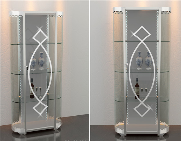 不锈钢酒柜[鑫广意]工艺独特创意新颖外观精美提升空间的艺术品味