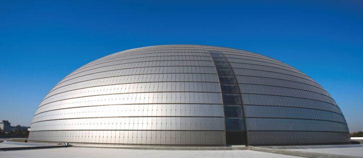 金属立面墙实用功能发展经久使用坚固如初寿命长不易生锈