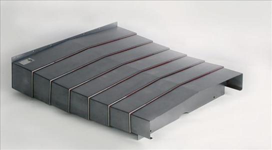 机床防护罩|五金材质结实坚固表面光滑+有效防护尖锐碎屑进入机床避免损坏|鑫广意