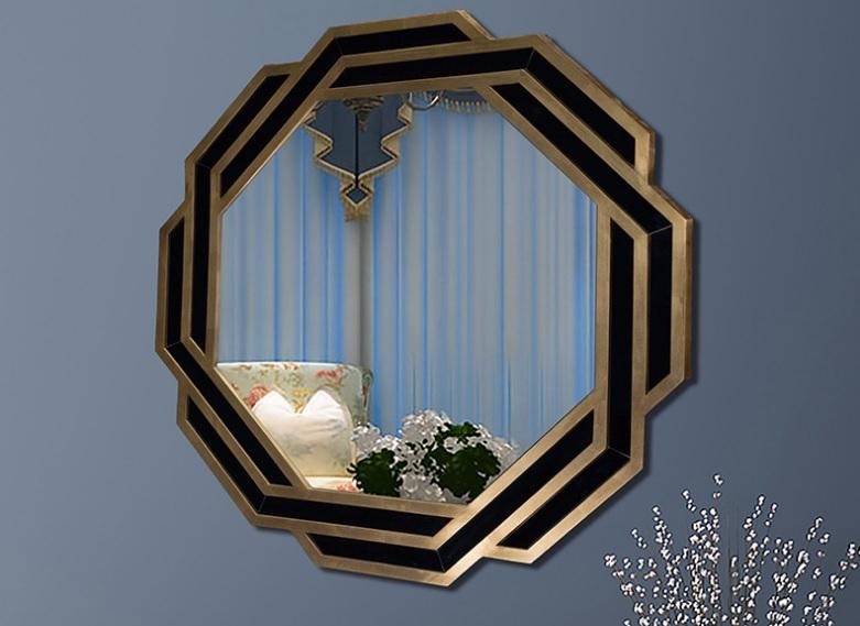 浴室镜框外观漂亮非常耐用为枯燥乏味的浴室装修带来了变化和美化/鑫广意