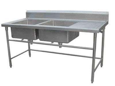 不锈钢洗菜池洗手池{鑫广意}寿命很长不渗漏不腐蚀使用便捷易于清洁维护