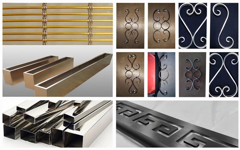 不锈钢装饰|典雅的造型华丽精美的外观+各式独特工艺处理形成装饰艺术|鑫广意