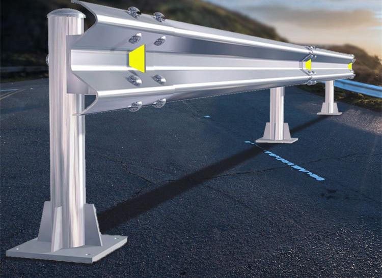 鑫广意五金波形护栏金属路障经济性好根据对象特性及现场条件等因素综合考量结构