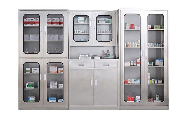 鑫广意药柜钢柜子每一道工序都严格检查确保安全可靠