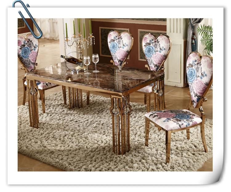 不锈钢餐桌轻奢风格外型美观使用舒适高品质生活的象征-鑫广意