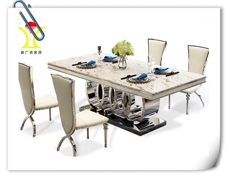 金属餐桌椅厂【鑫广意】制作出处处让人感受舒适的钢制桌椅营造良好的心情