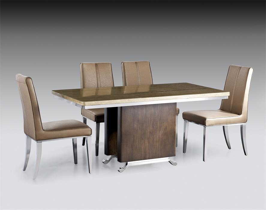 不锈钢餐桌椅【鑫广意】做工精细焊口均匀坚固耐用光泽靓丽美观大方