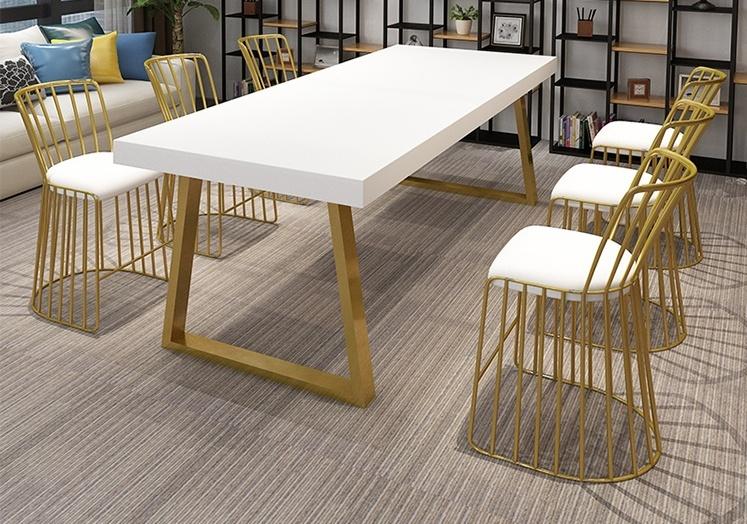不锈钢餐桌椅的使用期长强度强抗腐蚀且防火安全不怕高温如何判断金属桌椅的好坏
