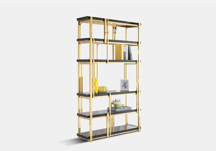 鑫广意低调奢华的书柜展示柜架设计新潮张扬每个人的自我让很多人为之着迷