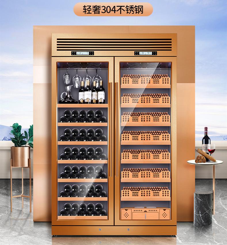 不锈钢酒柜专业团队【鑫广意】以缔造人无我有的奢华生活为目标完善专业的客户平台