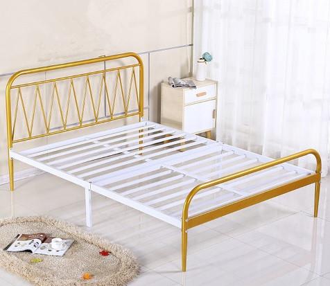 酒店床【鑫广意】曾经也是木质的而现在大多数人在选购大床的时分会选不锈钢双人床大床