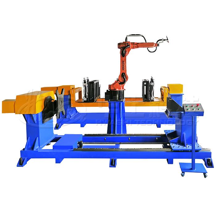 氬弧焊自動填絲焊接機器人