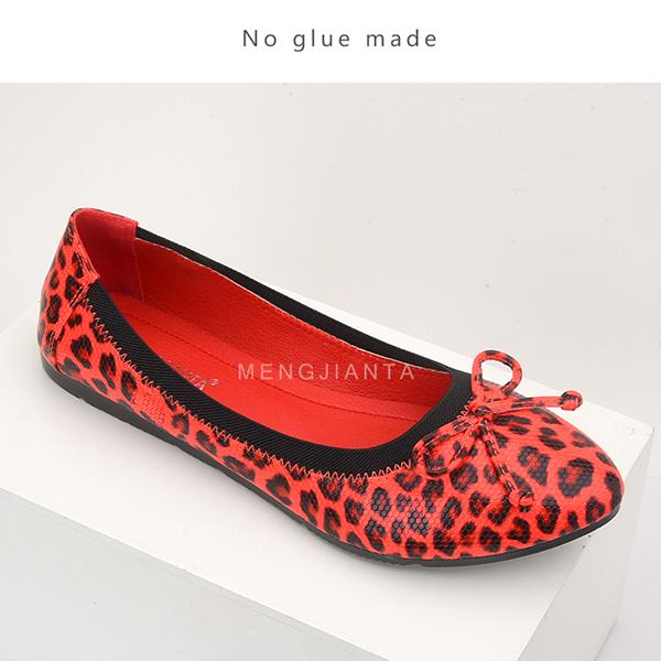 时尚豹纹单鞋