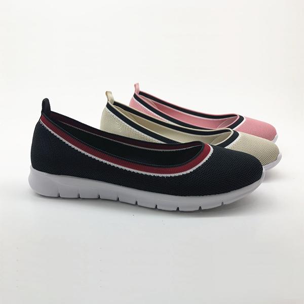 飞织休闲单鞋