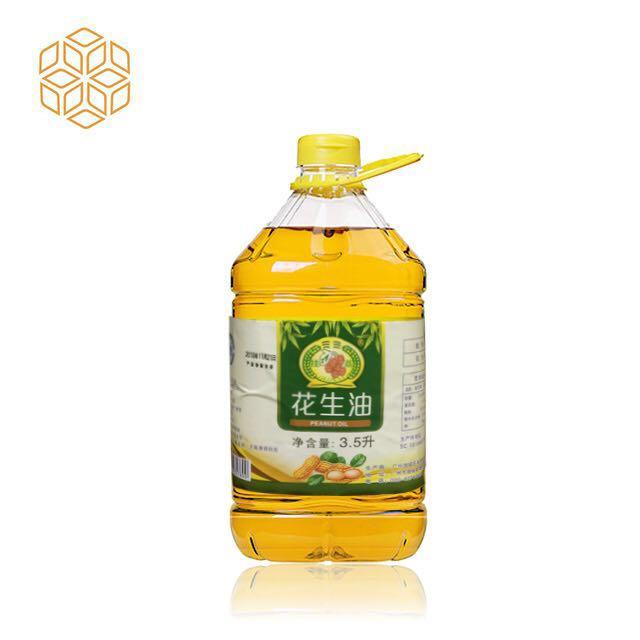 挂荔花生油3.5L