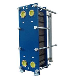 Half and welded plate heat exchanger