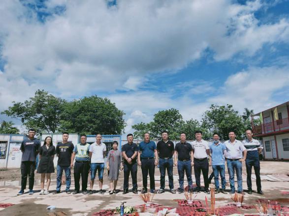 友焜集团首个装配式住宅工程---龙光濠弘苑项目举行开工仪式