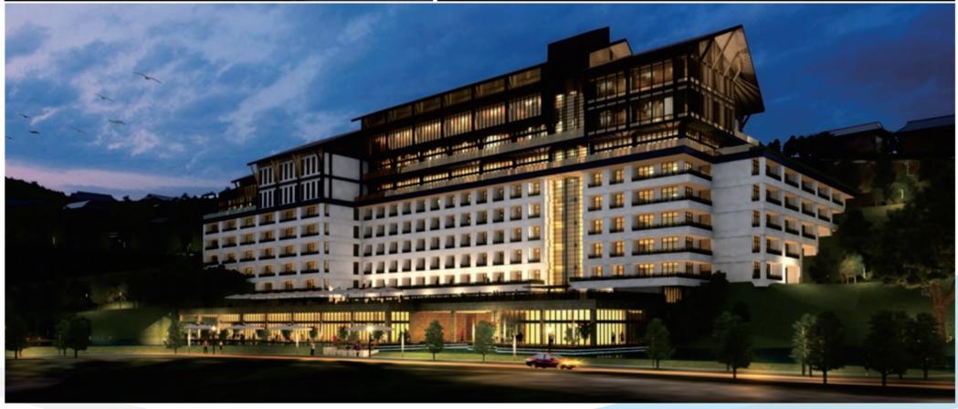 貴州省凱里至雷山高速路西江服務區酒店