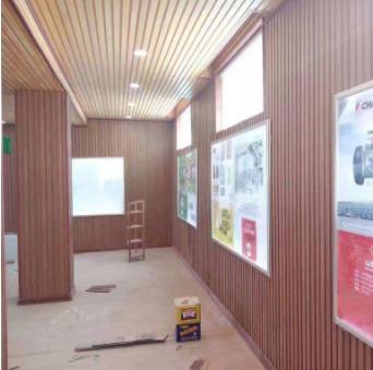 木塑护墙板1