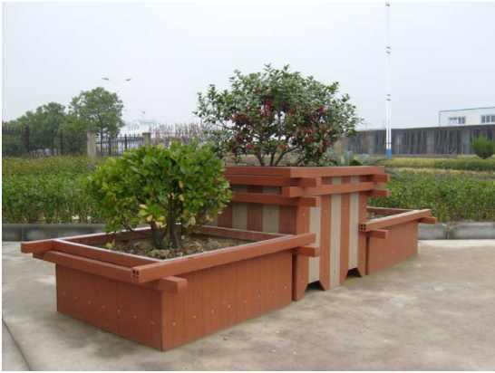 公园花箱,广东木塑户外公园花箱,广东木塑花箱厂家直销