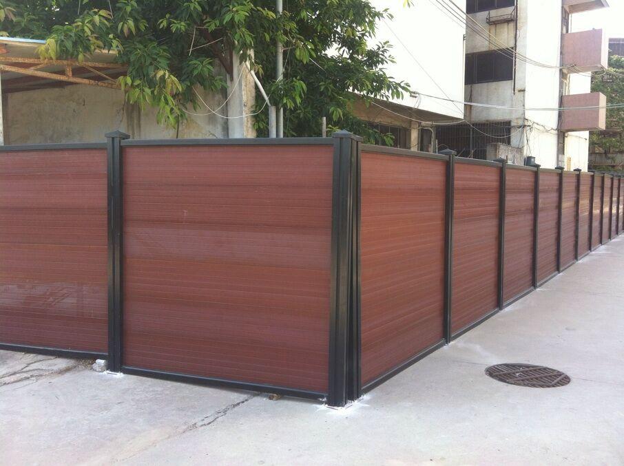 惠州木塑围墙厂家木塑栏杆