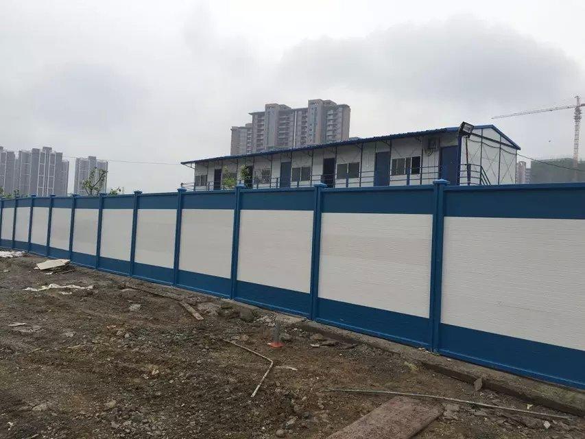 蓝柱+蓝白板