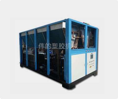Air-cooled screw machine
